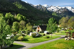 campings de montagne Pyr�n�es, location mobil home