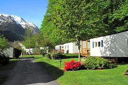 location camping mobile home pyrennees